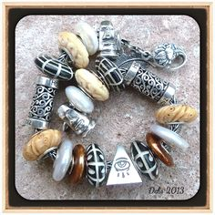 Carved bone beads Amazing! By Deborah Taylor