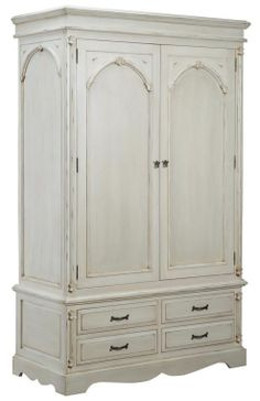 Buy Victorian Solid Pine Double Wardrobe from our Wardrobes range - Tesco.com