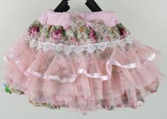 beautiful Chiffon Fluffy Skirts-Skirts for Toddler Girls-Girls Pink Rosa Rock, Baby Girl Skirts, Pearl And Lace, Tutus For Girls, Pink Girl, Lace Skirt, Mini Skirts, Chiffon, Toddler Girls