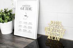 Esittelyssä meidän koti kuvina ja videolla // Saijis Pink And Gold, Blush Pink, Coffee Guide, Koti, Lettering, Kitchen, Decor, Light Rose, Cooking