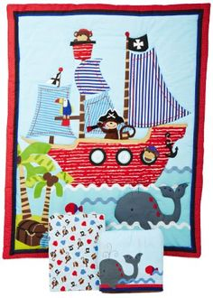 Bedtime Originals 3 Piece Treasure Island Crib Bedding Set Bedtime Originals,http://www.amazon.com/dp/B009WDZ2RC/ref=cm_sw_r_pi_dp_A4iDsb1A4B22A4JV