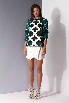 White Tiles Pullover