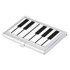 Piano Keys Business Card Holder #zazzle #businesscardholder