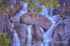 Cascade Creek Falls Close Up  Martin Belan Nature Photography