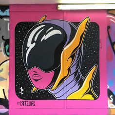 Visiting Artists of 2017: #6 -- We're spending some time this month highlighting some of the amazing artists we've supported this year! -- Our 6th pick is @johnpatelias! -- This piece screams futuristic anime retro 80's cartoons with a hint of Daft Punk! -- #globalstreetart #streetart #art #urbanart #wallart #streetartistry #streetarteverywhere #graffiti #daftpunk #anime #retro #cartoons