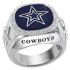Cowboys Ring.  He might wear this one. Nice.