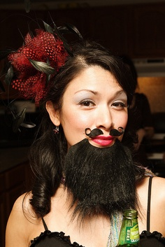 Bearded Lady! This is what I'm going as for Halloween