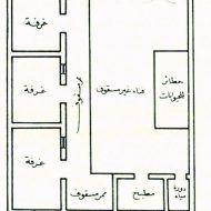 تخطيط بيت شعبي House Floor Design Family House Plans Architectural House Plans