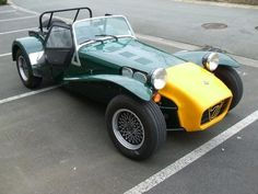 One day it will look like this, lotus seven