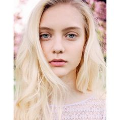 Portrait Nastya Kusakina by Jens Ingvarsson ❤ liked on Polyvore featuring models, people, backgrounds, females and hair