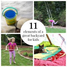 SET UP A KID FRIENDLY BACKYARD FOR ACTIVE PLAY