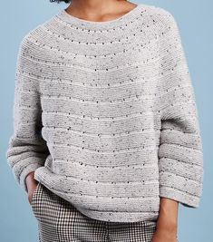 You are in the right place about pulli sitricken overzised Here we offer you the most beautiful pict Vogue Knitting, Baby Knitting, Handgestrickte Pullover, Knitting Patterns Boys, Knitted Coat, Knit Fashion, Pulls, Knitwear, Knit Crochet