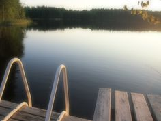 Summer evening at lake Saimaa, Finland