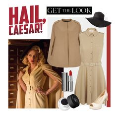 """""""Get the Look: Hail, Caesar!"""" by polyvore-editorial ❤ liked on Polyvore featuring Miss Selfridge, Givenchy, NARS Cosmetics, Marc Fisher, Charlotte Russe, women's clothing, women, female, woman and misses"""