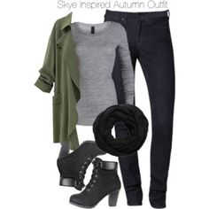 Agents of S.H.I.E.L.D. - Skye Inspired Autumn Outfit