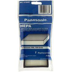 Amazon.com - Panasonic MC-V194H HEPA Filter, 1-Pack - Household Vacuum Filters Upright