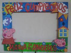 Marco Para Fotos Selfie Para Fiestas Peppa Pig - Bs. 7.500,00 en ...