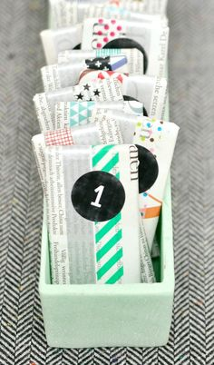 30 DIY Calendars to Help You Count Down to Christmas via Brit + Co