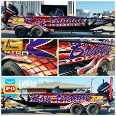 Ray Brandt Dodge >> Nitro Z21 Boat Wrap #ultimateboatwraps #nitroboatwraps ...