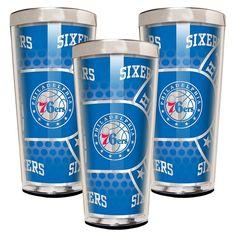 Philadelphia 76ers 3-Piece Shot Glass Set, Multicolor