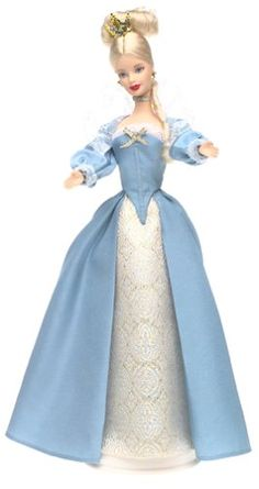 AmazonSmile: Barbie Dolls of the World - The Princess Collection: Princess of the Danish Court: Toys & Games