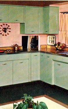 Vintage 1950's Geneva Kitchen