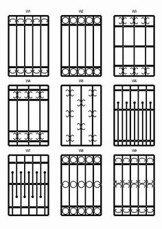 Whilst ancient inside principle, the actual pergola is enduring somewhat of a modern-day renaissance these Window Grill Design Modern, Grill Door Design, Window Design, Balcony Grill, Iron Balcony, Iron Windows, Iron Doors, Window Security Bars, Iron Window Grill