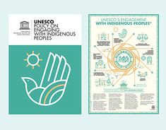 """Check out new work on my @Behance portfolio: """"UNESCO / Poster&book / Indigenous peoples"""" http://be.net/gallery/65270771/UNESCO-Poster-book-Indigenous-peoples"""
