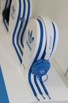 Point of Purchase Design   POP   POSM   POS  Adidas/Sennheiser Headphone Display POS  032 Design Ltd, Leic UK