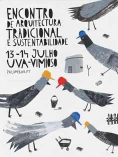 Mariana Rio III birds art event illustration