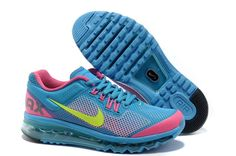 Nike Air Max 2013 Differentiation Women's shoes Sky Blue/Pink