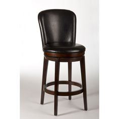 "Hillsdale Furniture Victoria 26"" Swivel Bar Stool with Cushion"