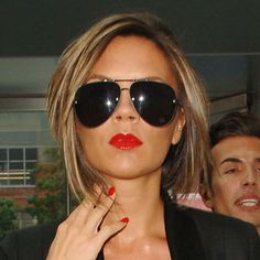Victoria Beckham Out And About - Victoria Beckham's Hair History