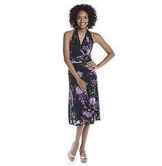 Herbergers Social Dresses, V Neck, Floral, Women, Fashion, Moda, Fashion Styles, Flowers, Fashion Illustrations