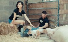 John Bartlett Teams Up with Farm Sanctuary
