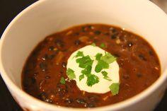 Chipotle Black Bean Soup