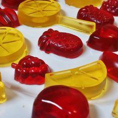 Balinhas de gelatina