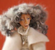 Puppe Margaret, handmade, Dekoration, Künstleruppe,  OOAK, Cernit