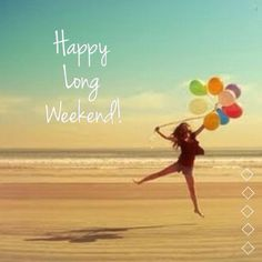 Happy Long Weekend! :3 I will... Sleep, sleep, enjoy, bond with specials, sleep, enjoy, enjoy and sleep again! hihi :)  Have a happy long weekend friends! <3 moretocome! :)
