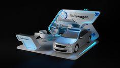 VolksWagen Activation Booth by Kareem Muhammed, via Behance