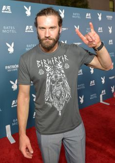 """Clive Standen Photos  - Playboy And A&E's """"Bates Motel"""" Event During Comic-Con Weekend - Arrivals - Zimbio  *thud*"""