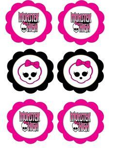 Pegatinas Monster High