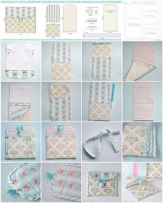 Pretty Coin purse sewing tutorial with free downloadable pattern