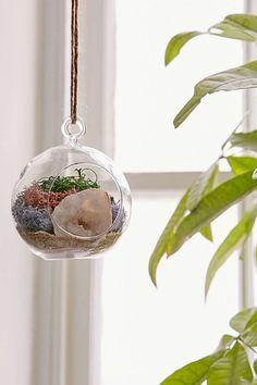 DIY Hanging Geode Terrarium - Urban Outfitters