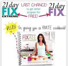 FREE FREE FREE FREE When you purchase one of this month's Challenge Packs (3 Different 21 Day Fix Packs & Body Beast).  You will also get ME as your FREE coach and I will help you day by day with any of these programs so you can achieve the maximum results!  Don't hesitate!  Only 10 days left on this amazing promotion!!