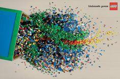 Unleash your Lego via The Cool Hunter - Ads