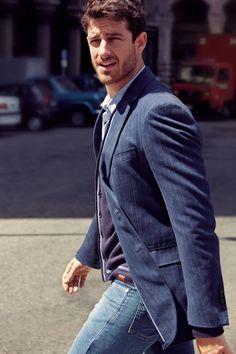 Blazer and jeans always a good choice