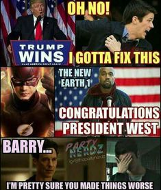Let's face it, The Flash is one of the CW's best superhero television shows. Not only is it fairly faithful to the source material, but unlike the recent Black Canary debacle on its sister-show Arrow Superhero Memes, Best Superhero, Dc Memes, Funny Memes, Hilarious, Arrow Memes, Arrow Funny, Flash Funny, Flash Barry Allen