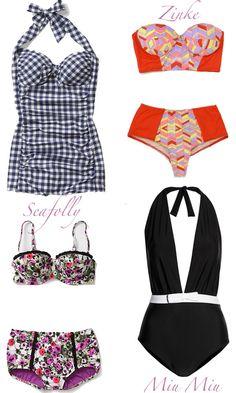 Vintage-swimwear www.dkgstyle.com
