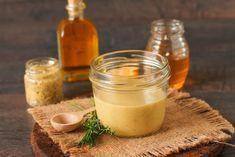 Molho mel e mostarda para salada